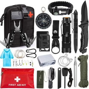 Aokiwo 47-in-1 Professional Survival Kit