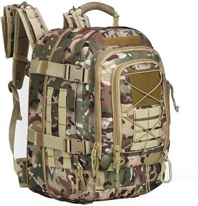Army Camo Military Tactical Backpack