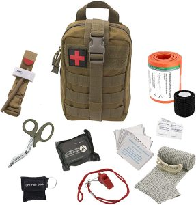 Asa Techmed Tactical First Aid Medical Kit