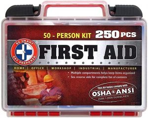 Be Smart Get Prepared 50 People First Aid Kit