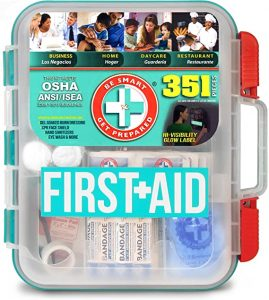 Be Smart Stay Prepared 100 People Standard First Aid Kit