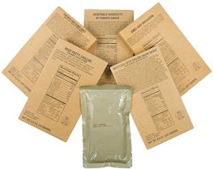 Captain Dave's 12 Military MRE Entrees