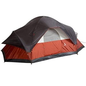 Coleman Red Colored 8-Person Tent