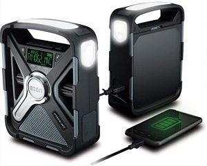 Eton Dual Powered Bluetooth Radio