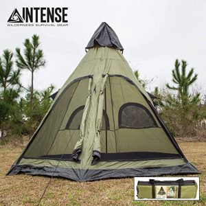 Intense Four-Person Teepee Tent