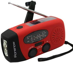 Ironsnow Solar Weather Radio