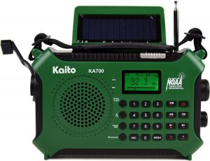 Kaito KA700 Bluetooth Survival Radio