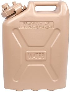LCI Plastic Water Can