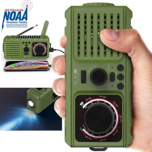 Ledianer Radio NOAA Portable Radio