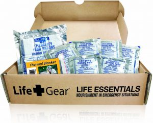 Life Gear Food Water with Thermal Blanket