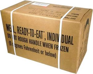 MREs Ready To Eat Packed Meal