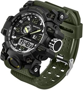 Men's Military Digital Analog Sports Watch