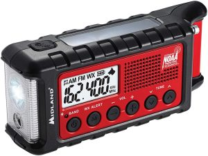 Midland ER310 Crank Weather Radio