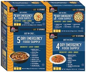 Mountain House 14-Day Emergency Food