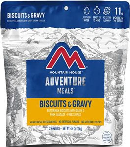 Mountain House Biscuits & Gravy Freeze Dried Food