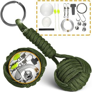 Paracord Keychain Lanyard Tactical Bushcraft