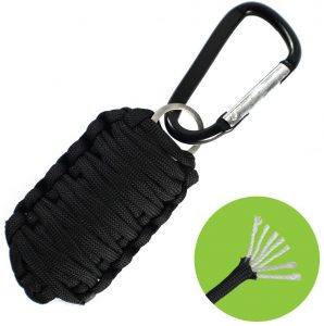 Paracord Survival Grenade Keychain Survival Kit