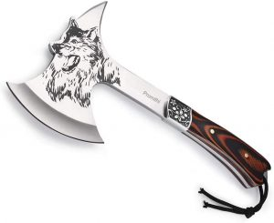Promithi Wolf Head Camping Hatchet