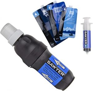 Squeeze Water Filter System with 3 Pouches