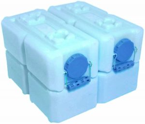 WaterBrick Containers Pack Of 4
