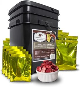 Wise Company Food Kits 120 Freeze-Dried Fruit