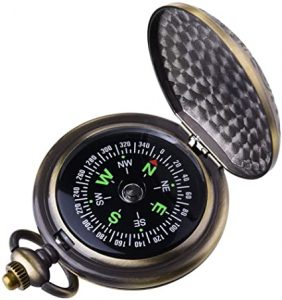 Kakuru Vintage Pocket Compass