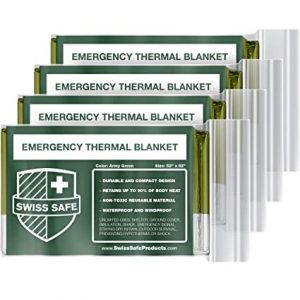 Swiss Safe Mylar Thermal Blankets